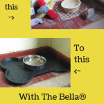 Keeping It Neat With The Bella® Spill-Proof Dog Mat