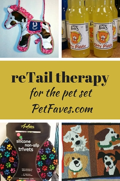 reTail Therapy on PetFaves.com: cool pet finds at the Country Cupboard in Lewisburg, PA