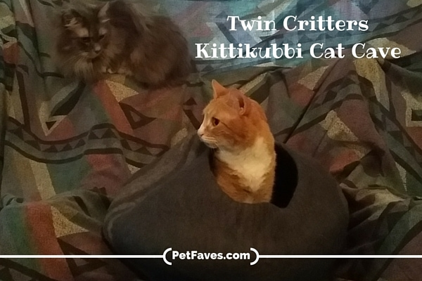 Twin Critters Kittikubbi Cat Cave