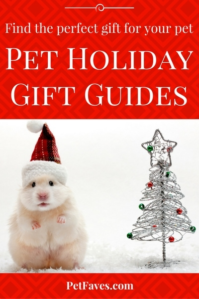 Pet Holiday Gift Guides- Find the perfect gift for your pet and pet loving family and friends.
