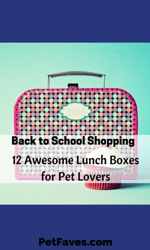 Whether you are a kid who is going back to school or a grown up who goes to work each day, lunch is something to look forward to. And it's even more fun to look forward to if you have a cute lunch bag to see each day. And if you are a pet lover, cute means animals on your lunch bag. And you can't get much cuter than some of these pet lunch bags I found.