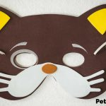 Pet-Themed Halloween Masks You Can Make