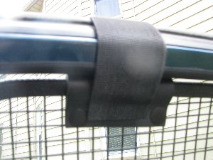 Top attachment of Breezeguard Car window scren