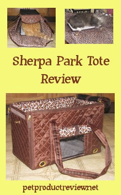 If you are looking for an attractive looking, easy to store, easy to clean carrier for your cat or little dog, I can recommend the Sherpa Park Tote carrier.