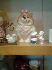 Pomeranian Cookie Jar