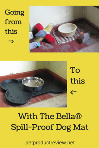 The Bella Spill Proof Dog Mat