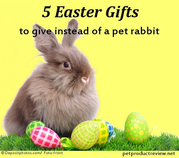 5 Easter Gifts to give instead of a pet rabbit