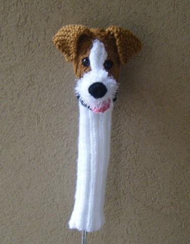 Jack Russell Terrier Golf Club Cover