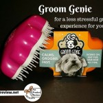 The Groom Genie's gentle design makes grooming easier, less painful and less stressful. Easier, less painful and less stressful makes grooming sessions a positive experience which helps reduces grooming anxiety in pets.