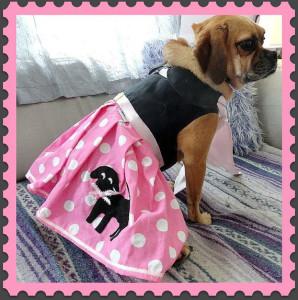 The Pink Puggle Skirt Dog Halloween Costume