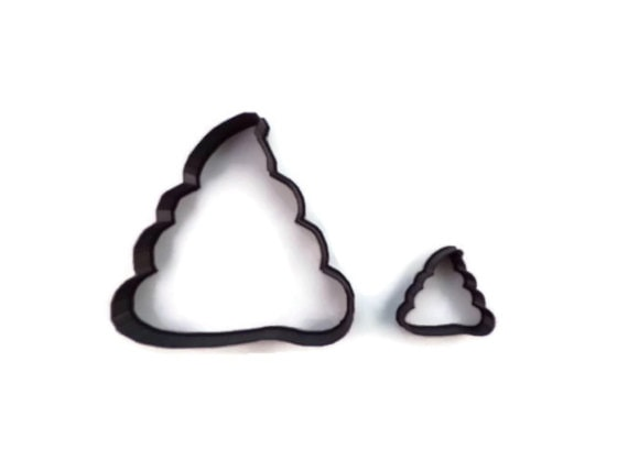 Dog poop cookie cutter by LifeIsWhatWeBakeIt on Etsy #giftidea #cookiecutter #dogpoopcookiecutter