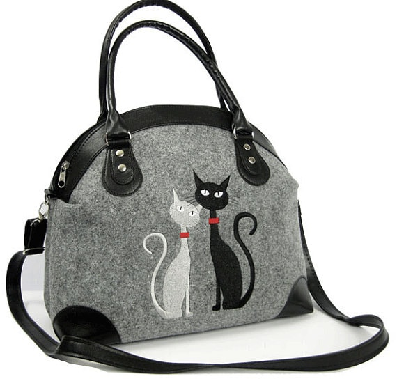 Cat Mom Gift- Fashionable Cat Purse