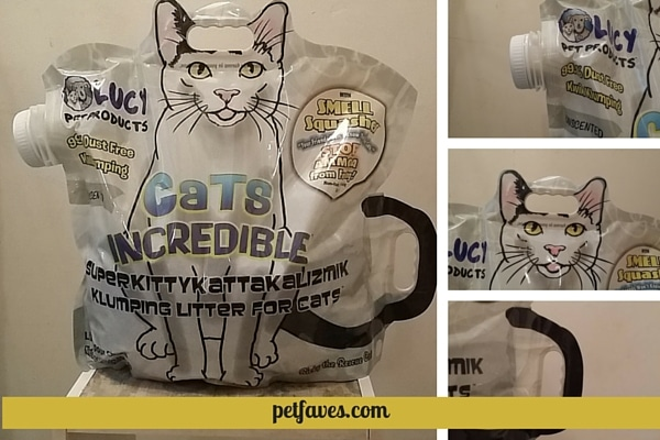 Cats Incredible™ Cat Litter with ergonomic packaging