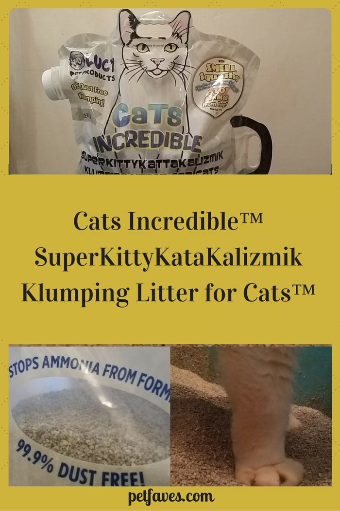 Cats Incredible Clumping Cat Litter