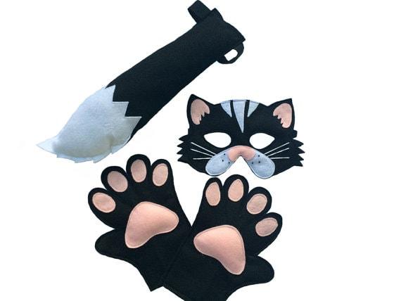 Black Cat Costume set by MagicalAttic