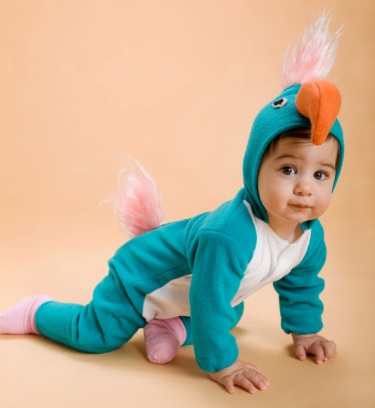 Parrot Halloween Costume for Kids by ThumbelinaWorkshop