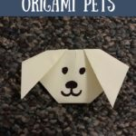 Have Fun Making Origami Pets | From PetFaves.com | All you need is some paer and you are ready to make any of these cute Origami pets that I rounded up.