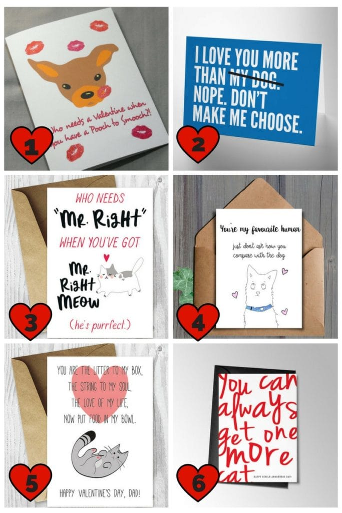 Show Your Love With These Valentine Cards For Pet Lovers