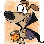 Pet Coloring Pages For Halloween