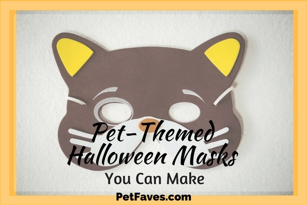 Did you forget to get a costume for your office party? Or maybe you are looking for somethingfor greeting trick or treaters? Thanksto the Internet and some artisticpeople, a pet-themed mask is just a download away. And thereissomething for everyone. Printable masks are for those who want a mask in just minutes. Or download a pattern to make a mask that will stand out from all your friends.