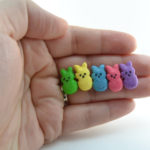 Bunny Marshmallow Peeps from VVsGrotto on Etsy