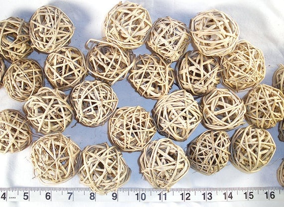 Natural Vine/Wicker/Twig Balls